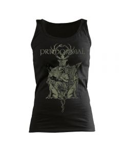 PRIMORDIAL - Throne - GIRLIE - Tank Top - Shirt