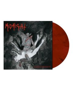 MIDNIGHT - Rebirth By Blasphemy - LP - Marbled Red Black