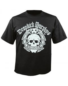DROPKICK MURPHYS - Boston Skull - T-Shirt