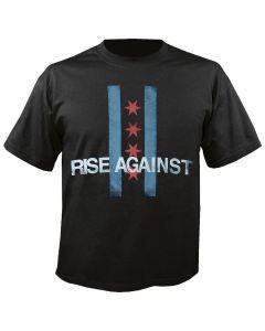 RISE AGAINST - Flag - T-Shirt