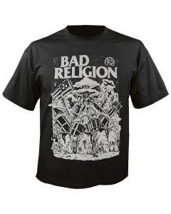 BAD RELIGION - Wasteland - T-Shirt