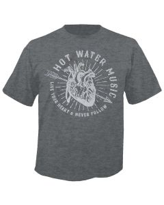 HOT WATER MUSIC - Live Your Heart - T-Shirt