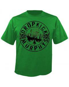 DROPKICK MURPHYS - Boot - Green - T-Shirt
