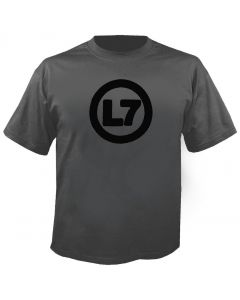 L7 - Spray Logo - T-Shirt