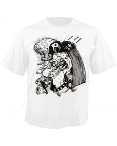 RED FANG - Burger - White - T-Shirt
