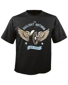 THE GASLIGHT ANTHEM - Winged Wheel - T-Shirt