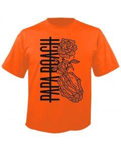 PAPA ROACH - Thorn Roses - Orange - T-Shirt