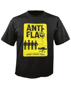 ANTI-FLAG - Drink Drank Punk - T-Shirt