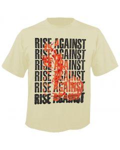 RISE AGAINST - Flame - T-Shirt