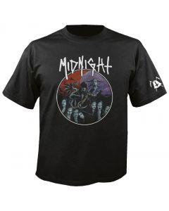 MIDNIGHT - Rebirth By Blasphemy - T-Shirt