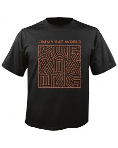 JIMMY EAT WORLD - Surviving - Cover - T-Shirt