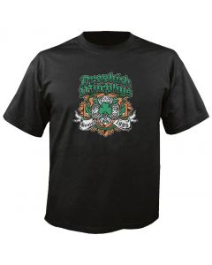 DROPKICK MURPHYS - Shamrock Badge - T-Shirt