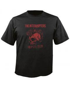 THE INTERRUPTERS - Broken World - Red Mohawk - T-Shirt