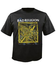 BAD RELIGION - Against the Grain - Black - T-Shirt