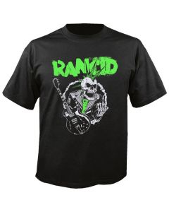 RANCID - Skele Tim - Guitar - Black - T-Shirt