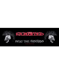 THE EXPLOITED - Beat the Bastards - Superstrip / Patch / Aufnäher