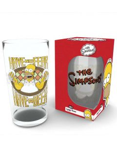 THE SIMPSONS - Have no Fear - Pint Glas