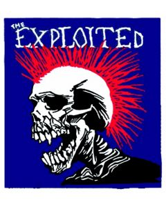 THE EXPLOITED - Mohican - Patch / Aufnäher