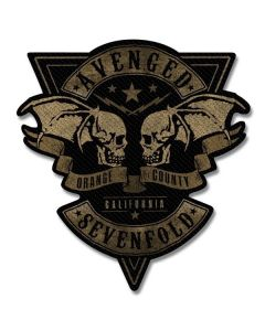 AVENGED SEVENFOLD - Orange County - cut Out - Patch / Aufnäher