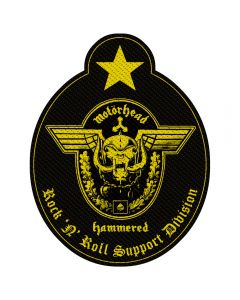 MOTÖRHEAD - Support Division - Cut Out - Patch / Aufnäher