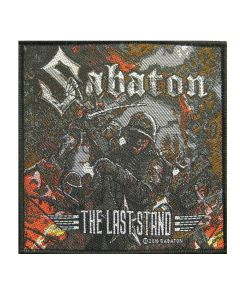 SABATON - The Last Stand - Patch / Aufnäher