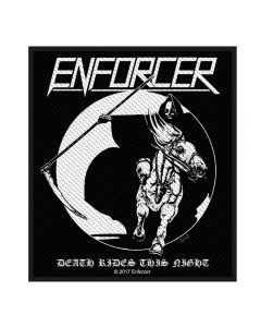 ENFORCER - Death Rides - Patch / Aufnäher