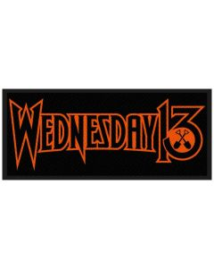 WEDNESDAY 13 - Logo - Patch / Aufnäher
