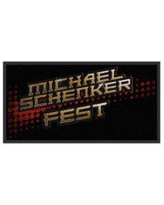 MICHAEL SCHENKER FEST - MSF - Logo - Patch / Aufnäher