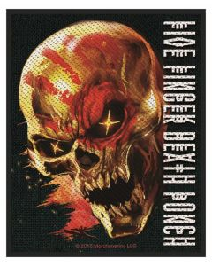 FIVE FINGER DEATH PUNCH - And Justice for none - Patch / Aufnäher