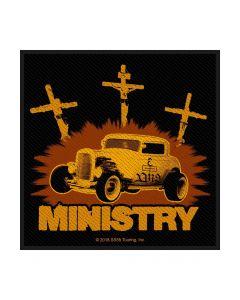 MINISTRY - Jesus built my Hotrod - Patch / Aufnäher