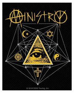 MINISTRY - All seeing Eye - Patch / Aufnäher