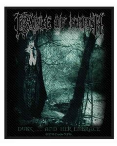 CRADLE OF FILTH - Dusk and her embrace - Patch / Aufnäher