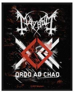 MAYHEM - Ordo Ad Chao - Patch / Aufnäher