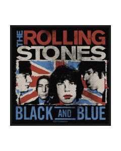 THE ROLLING STONES - Black And Blue - Patch / Aufnäher