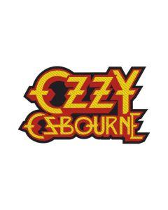 OZZY OSBOURNE - Logo - Cut Out - Patch / Aufnäher