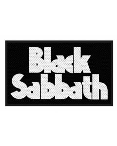 BLACK SABBATH - White Logo - Patch / Aufnäher