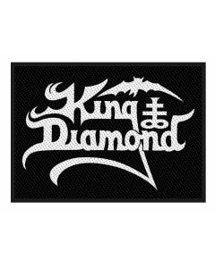KING DIAMOND - Logo - Patch / Aufnäher