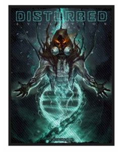 DISTURBED - Evolution Hooded - Patch / Aufnäher