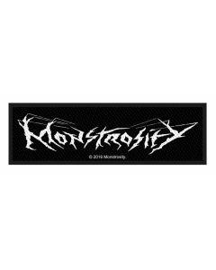 MONSTROSITY - Logo - Patch / Aufnäher