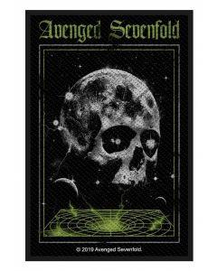 AVENGED SEVENFOLD - Vortex Skull - Patch / Aufnäher