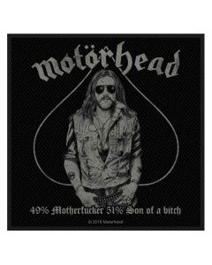 MOTÖRHEAD - 49% Motherfucker - Patch / Aufnäher