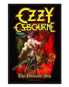 OZZY OSBOURNE - The Ultimate Sin - Patch / Aufnäher