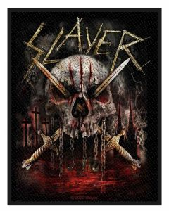 SLAYER - Skull and Swords - Patch / Aufnäher