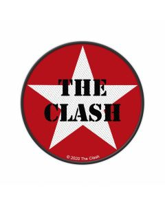 THE CLASH - Military Logo - Star - Patch / Aufnäher