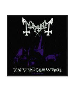 MAYHEM - De Mysteriis Dom Sathanas - Patch / Aufnäher