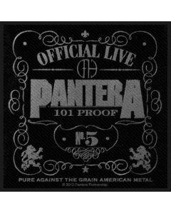 PANTERA - 101% Proof - Patch / Aufnäher