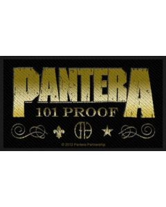 PANTERA - Whiskey Label - Patch / Aufnäher