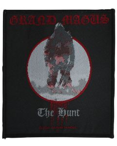 GRAND MAGUS - The Hunt - Patch / Aufnäher
