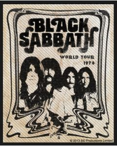 BLACK SABBATH - Band - Patch / Aufnäher