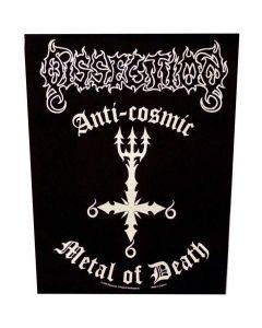 DISSECTION - Metal of Death - Rückenaufnäher / Backpatch